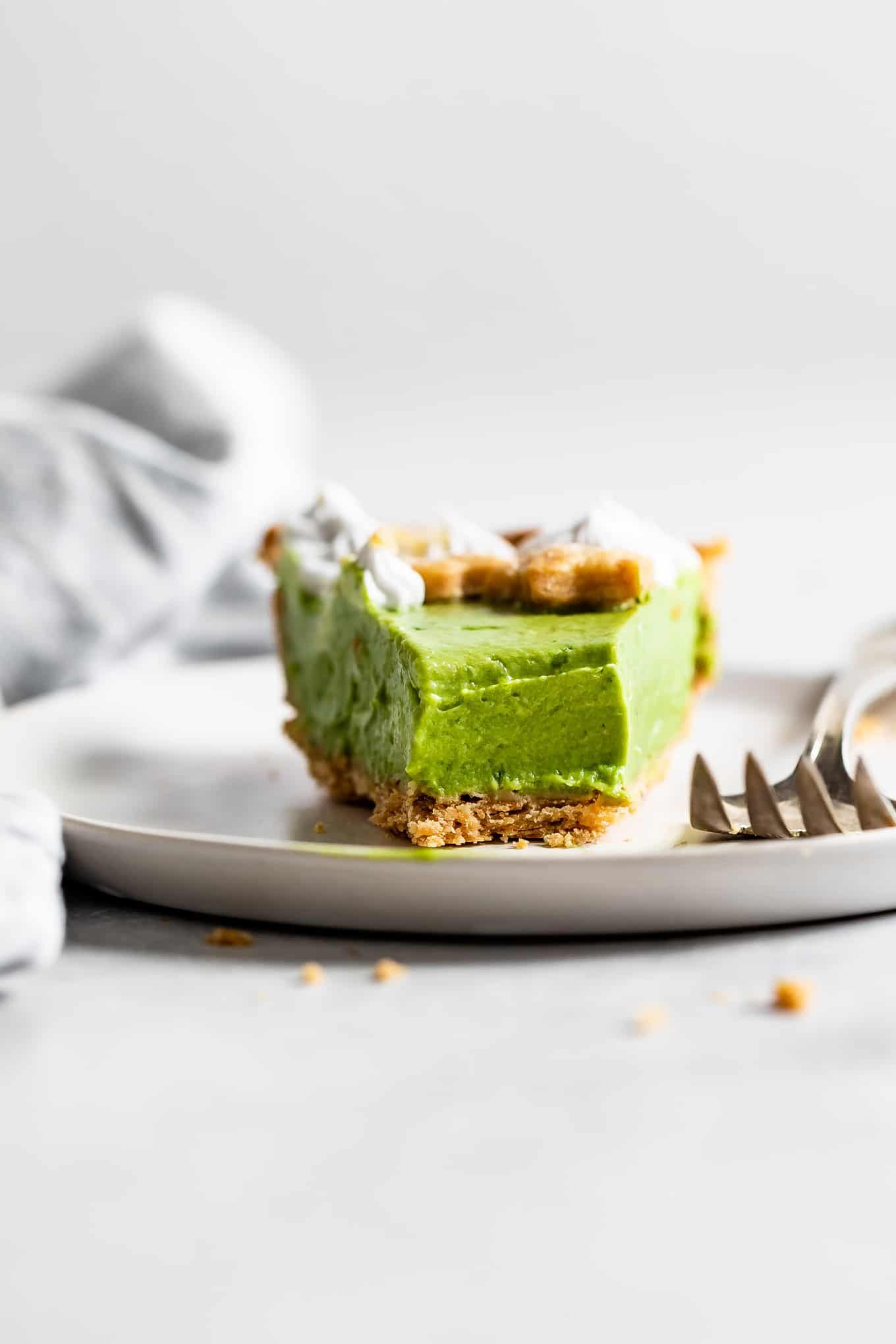 Gluten-Free Key Lime Matcha Tart