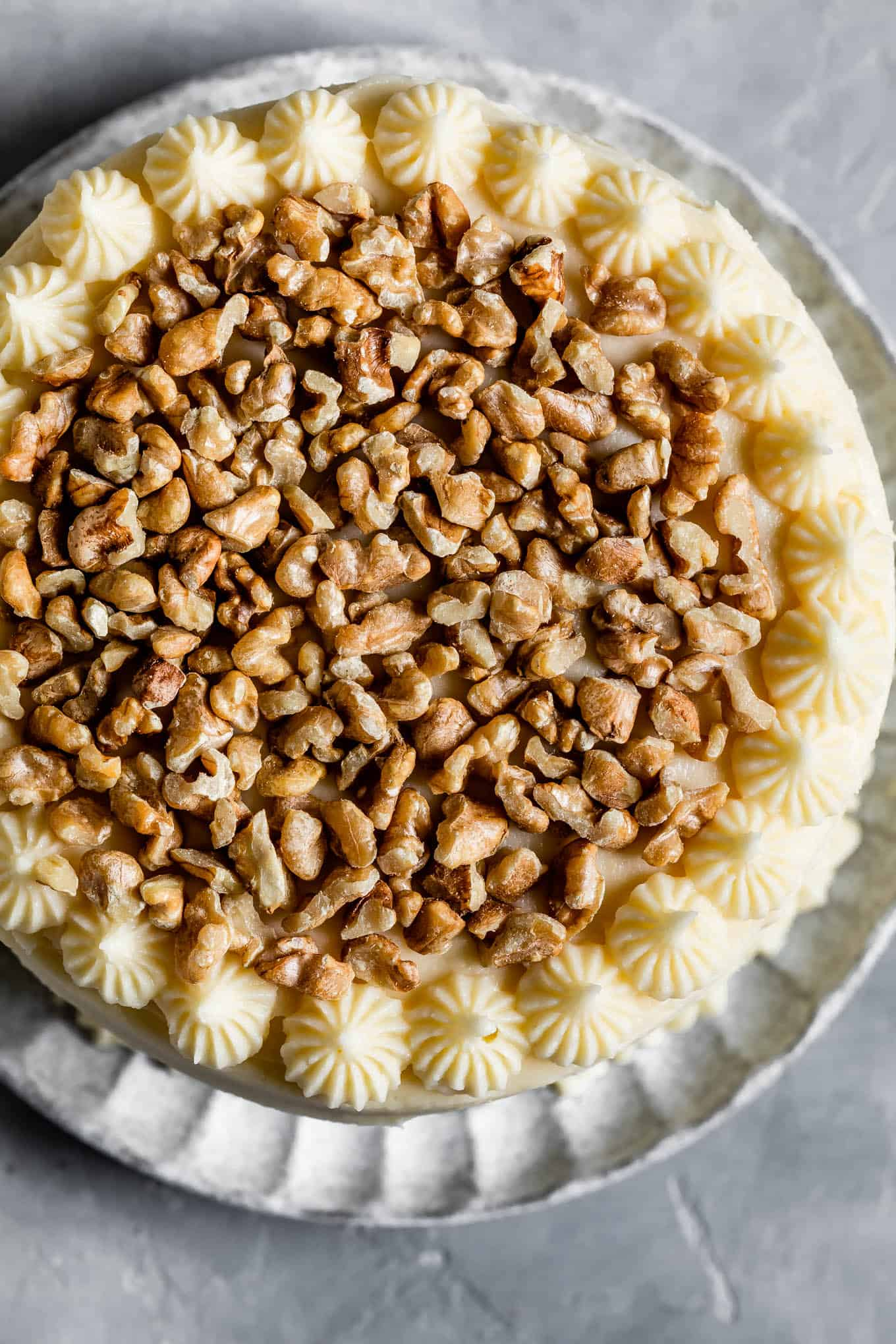 Toasted Walnuts Layer Cake