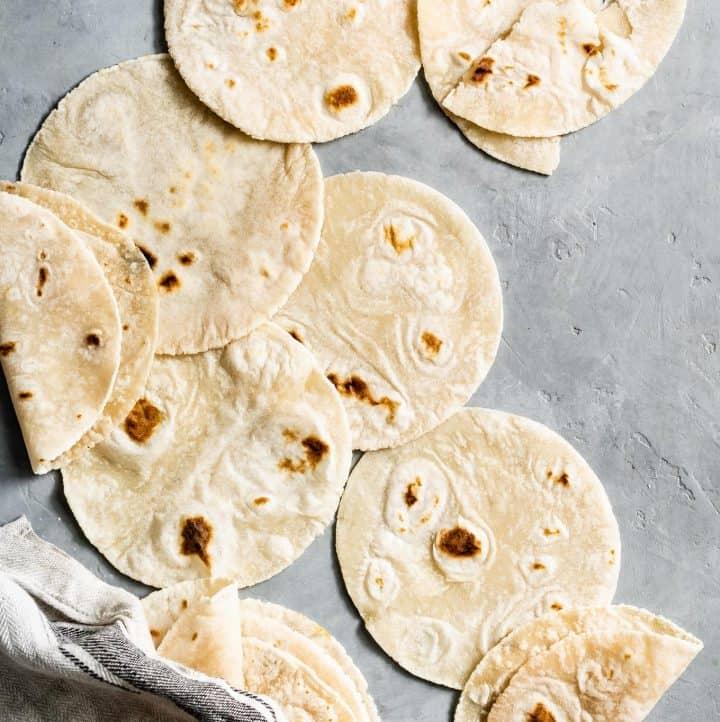 Gluten-Free Cassava Flour Tortillas