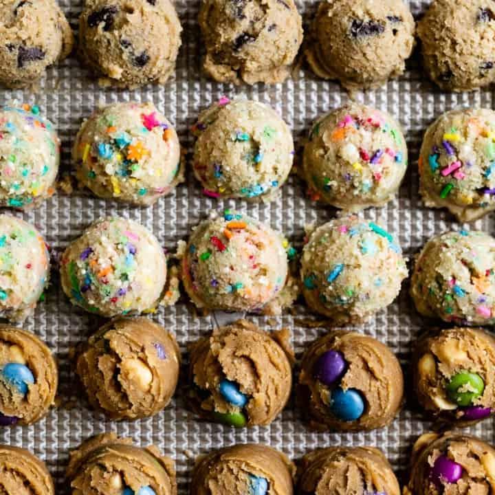 Gluten-Free Edible Cookie Dough