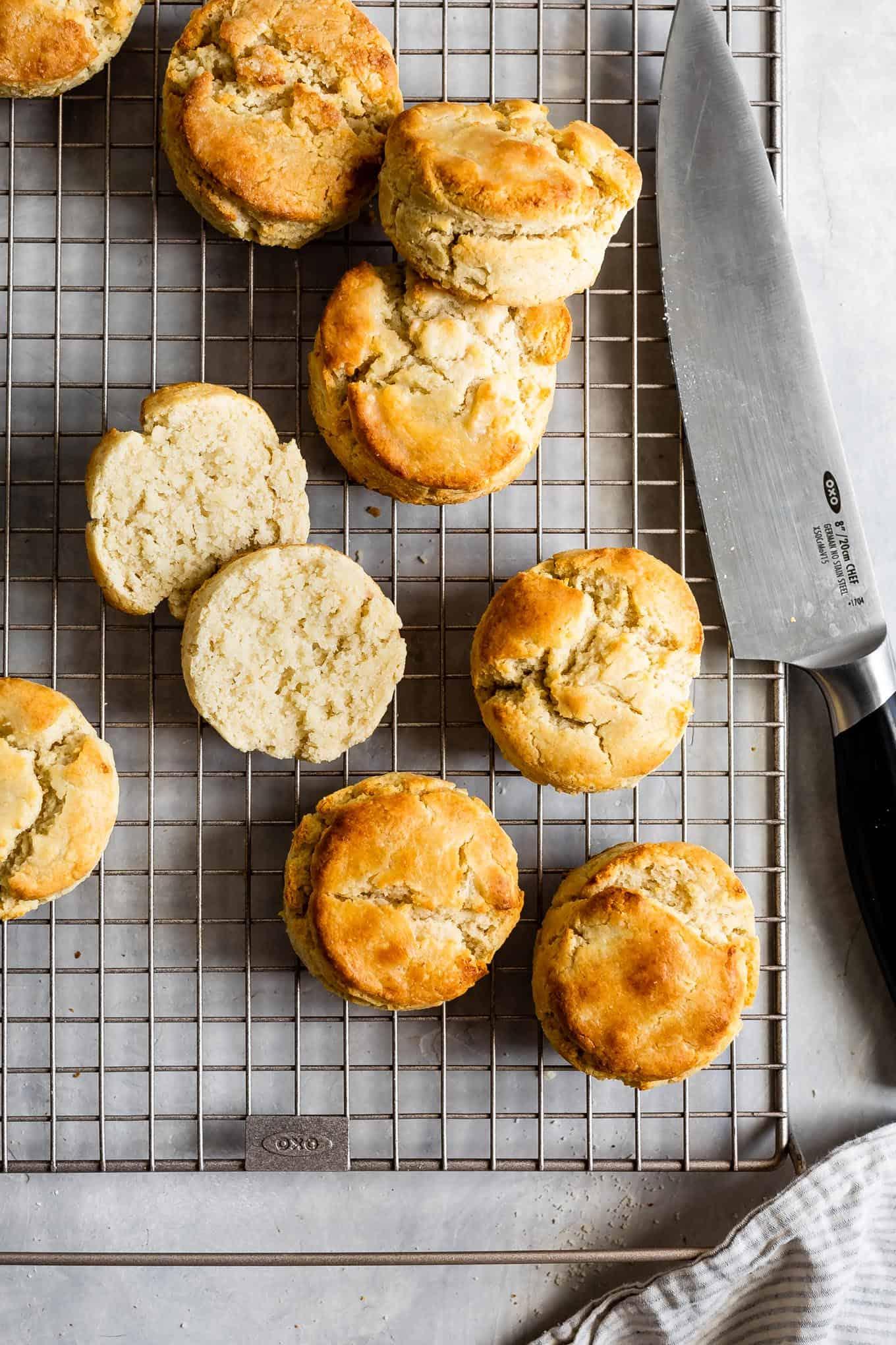 Fluffy Gluten-Free Biscuits