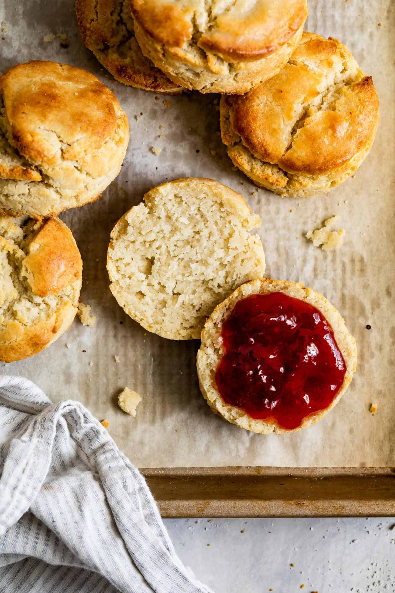 Gluten-Free Biscuits & Jam