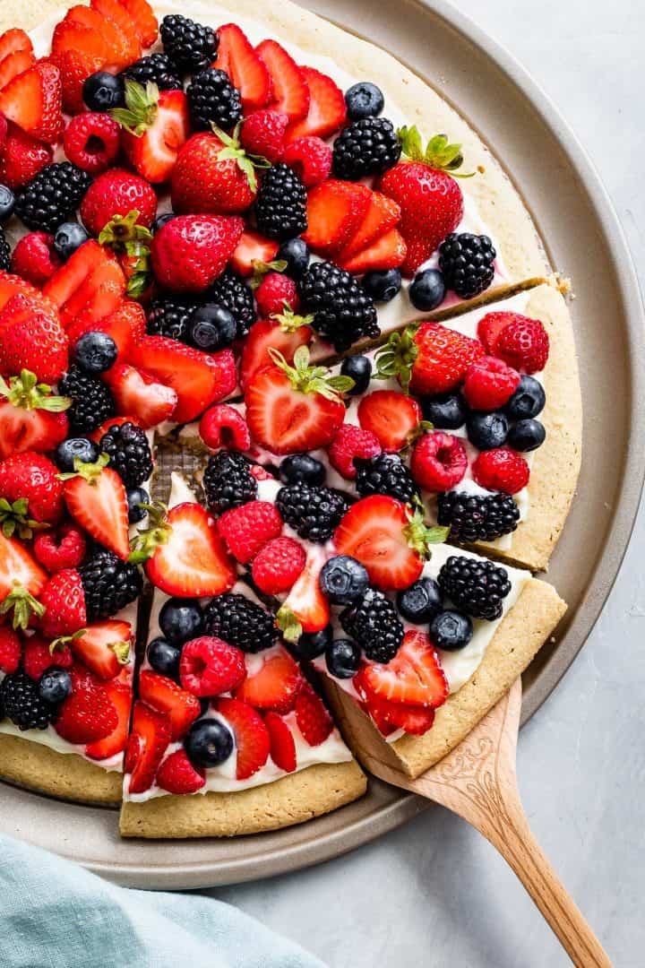Gluten-Free Fruit Pizza Recipe