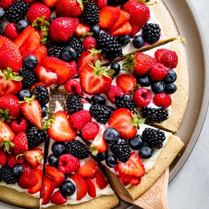 Gluten-Free Fruit Pizza Recipe