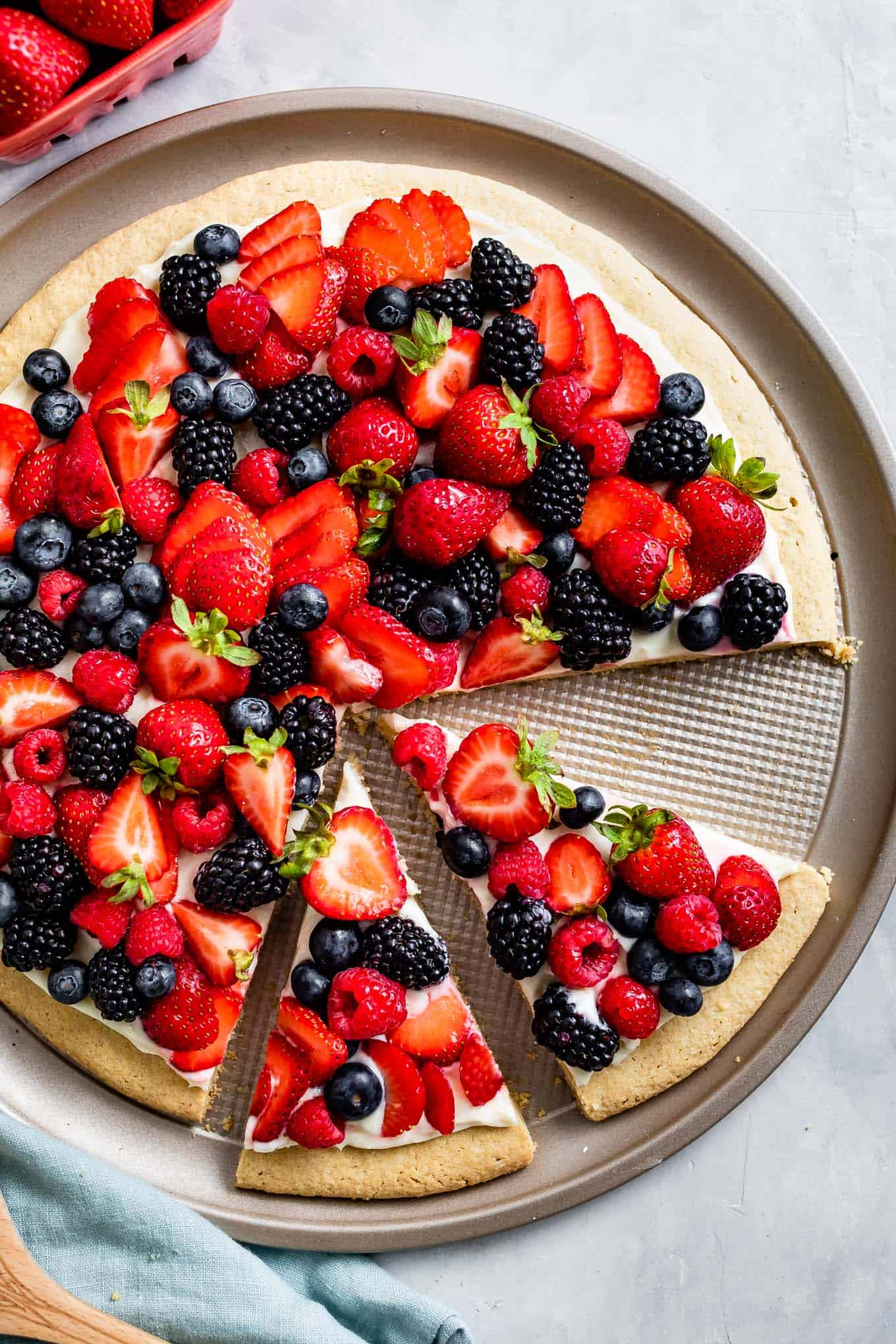 Gluten-Free Cookie Pizza