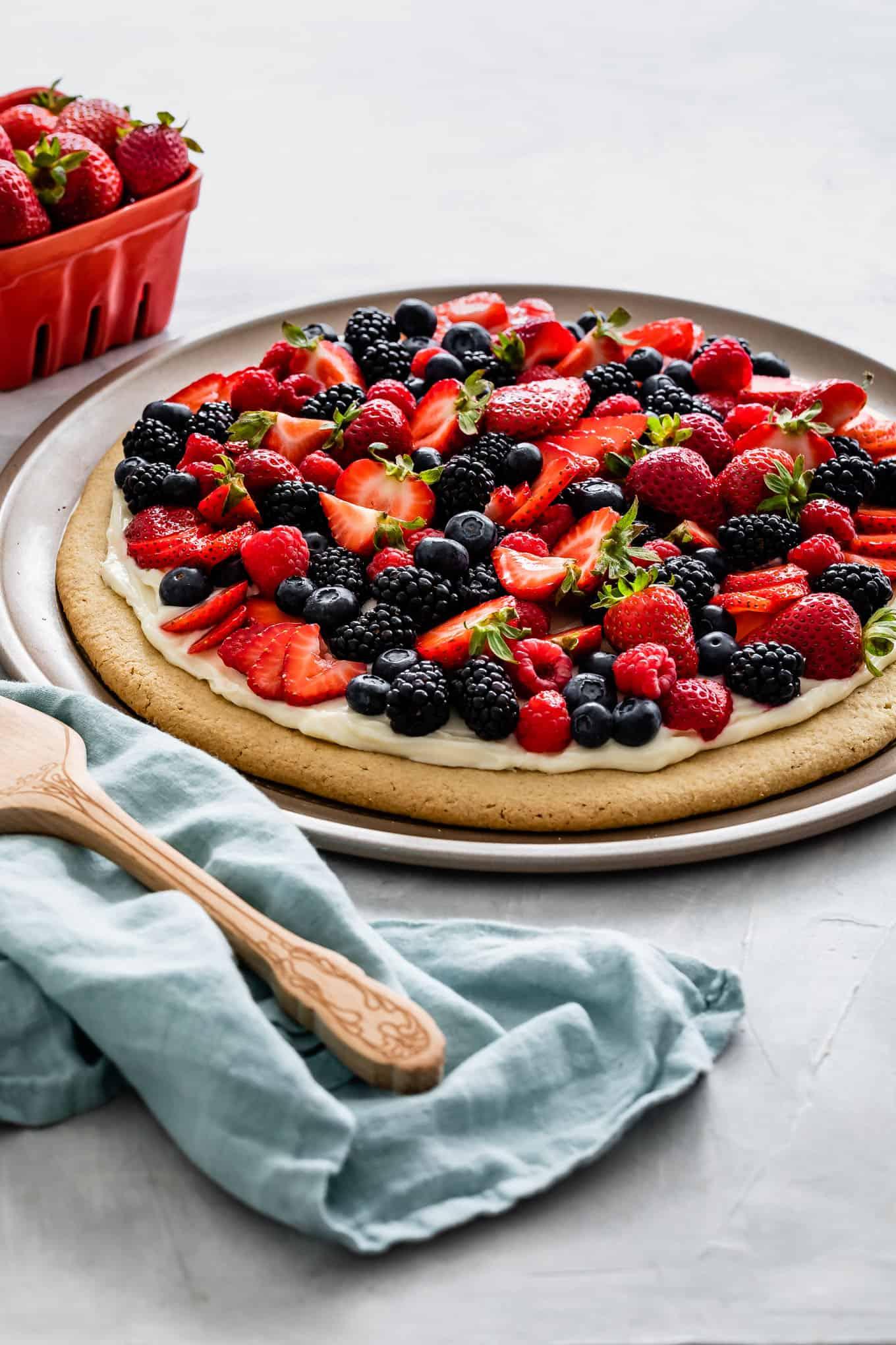 Gluten-Free Gluten-Free Fruit Pizza Recipe