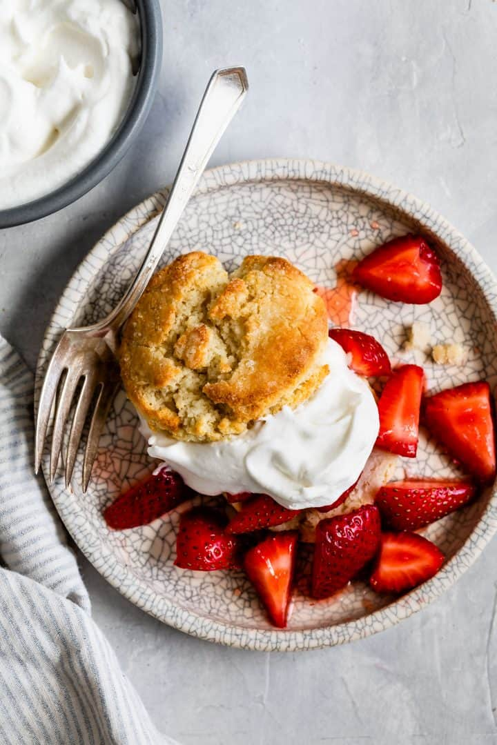 Gluten-Free Strawberry Shortcake