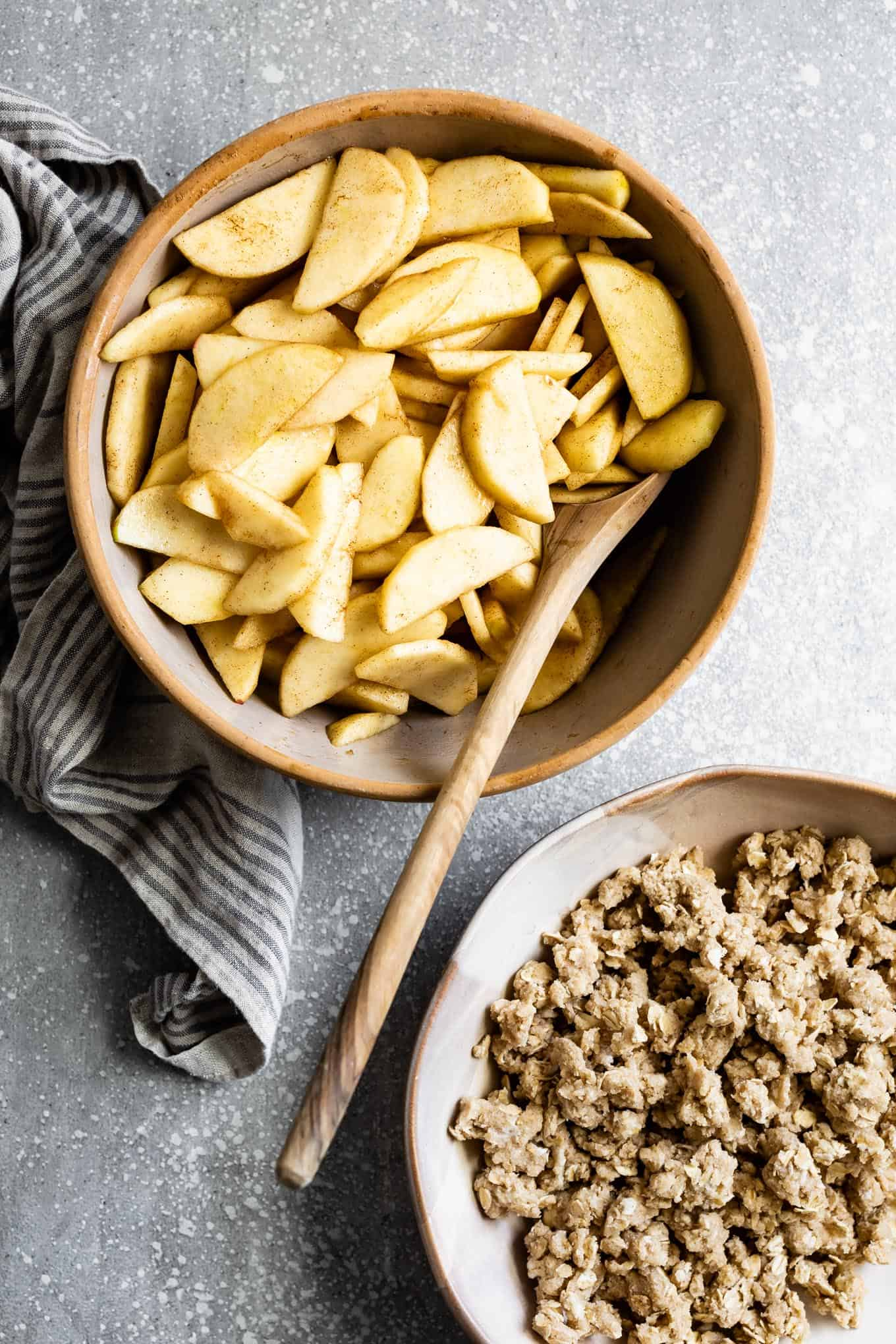 Gluten-Free Apple Crisp with Oats