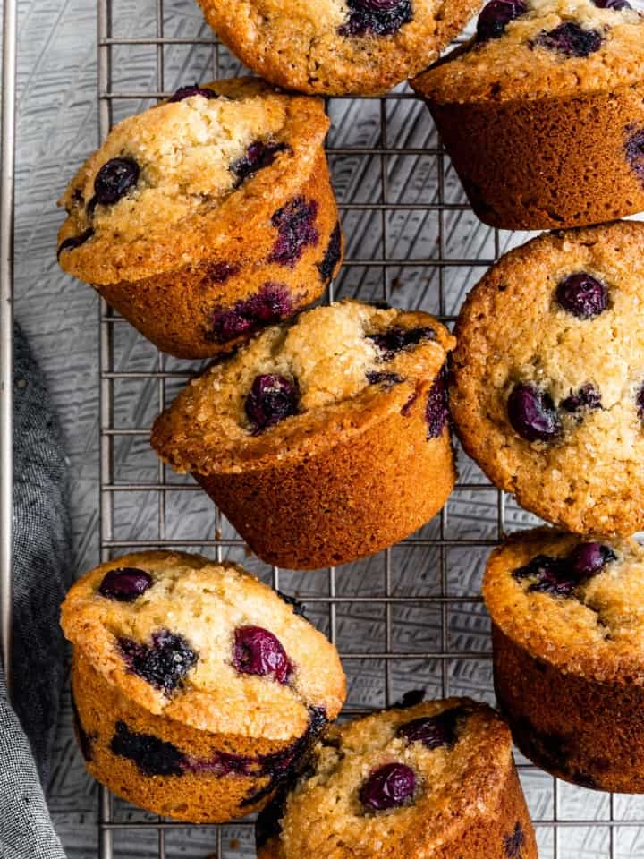 Gluten-Free Blueberry Muffin Recipe with Almond Flour