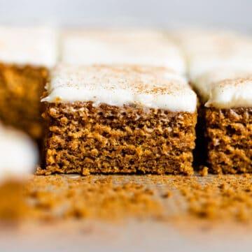 Gluten-Free Pumpkin Spice Bars