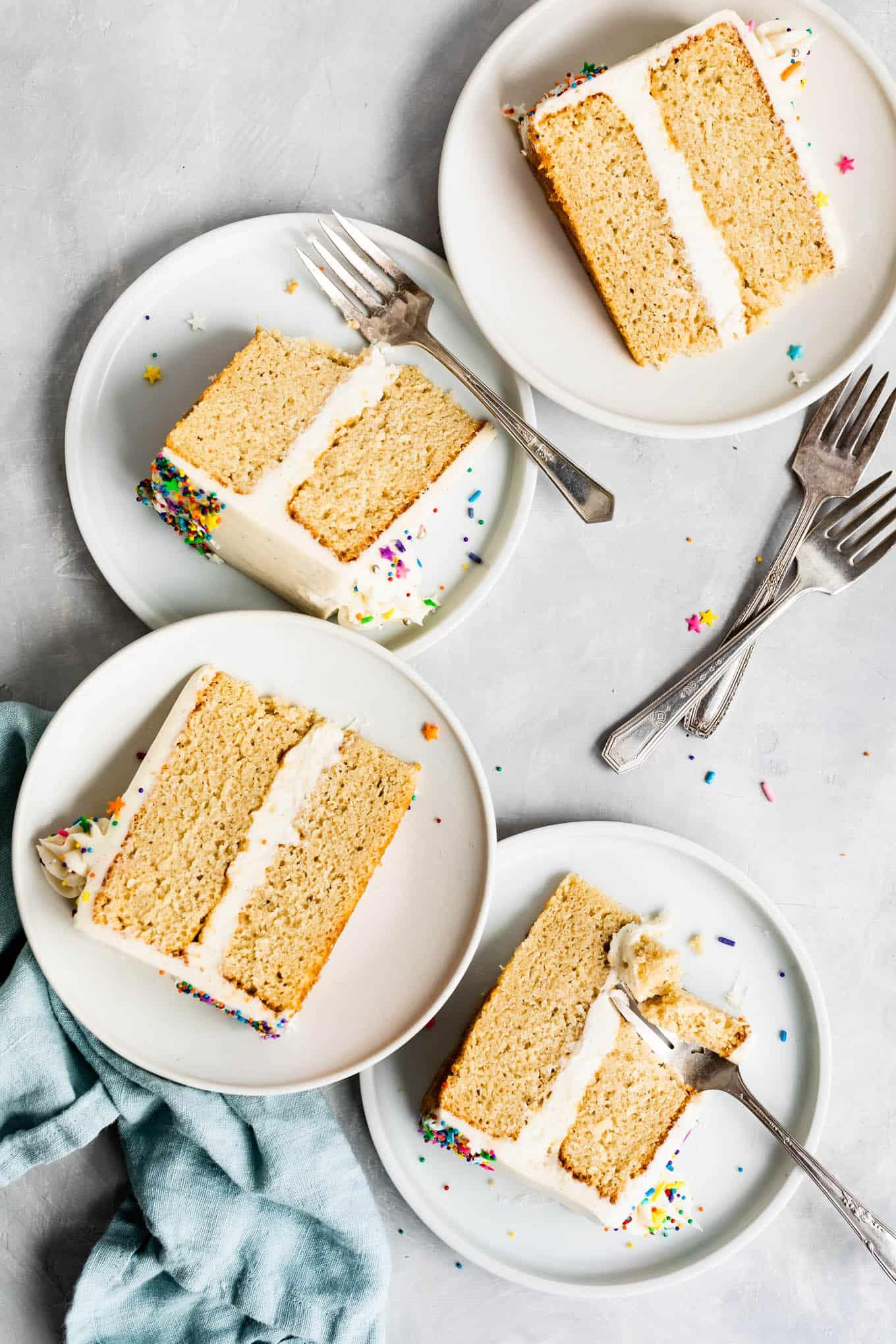 Best Gluten-Free Vanilla Cake