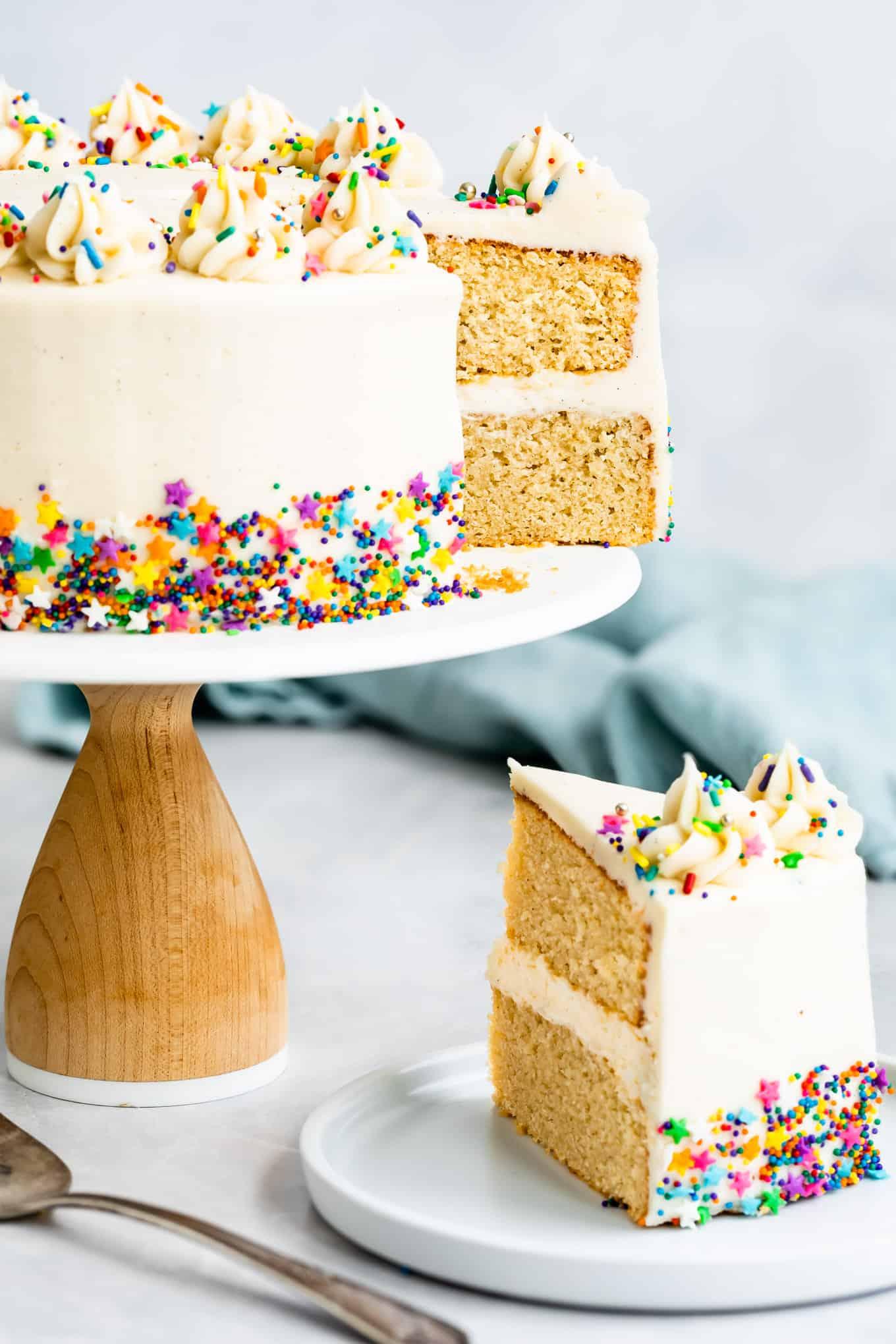 Easy Gluten-Free Vanilla Cake Recipe