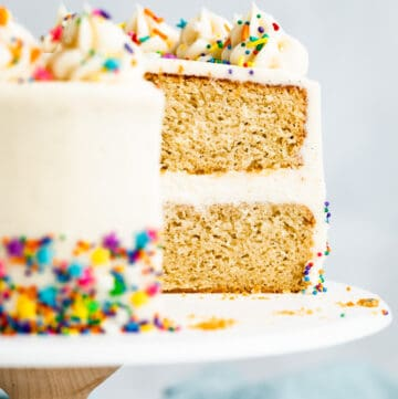 Gluten-Free Birthday Cake Recipe