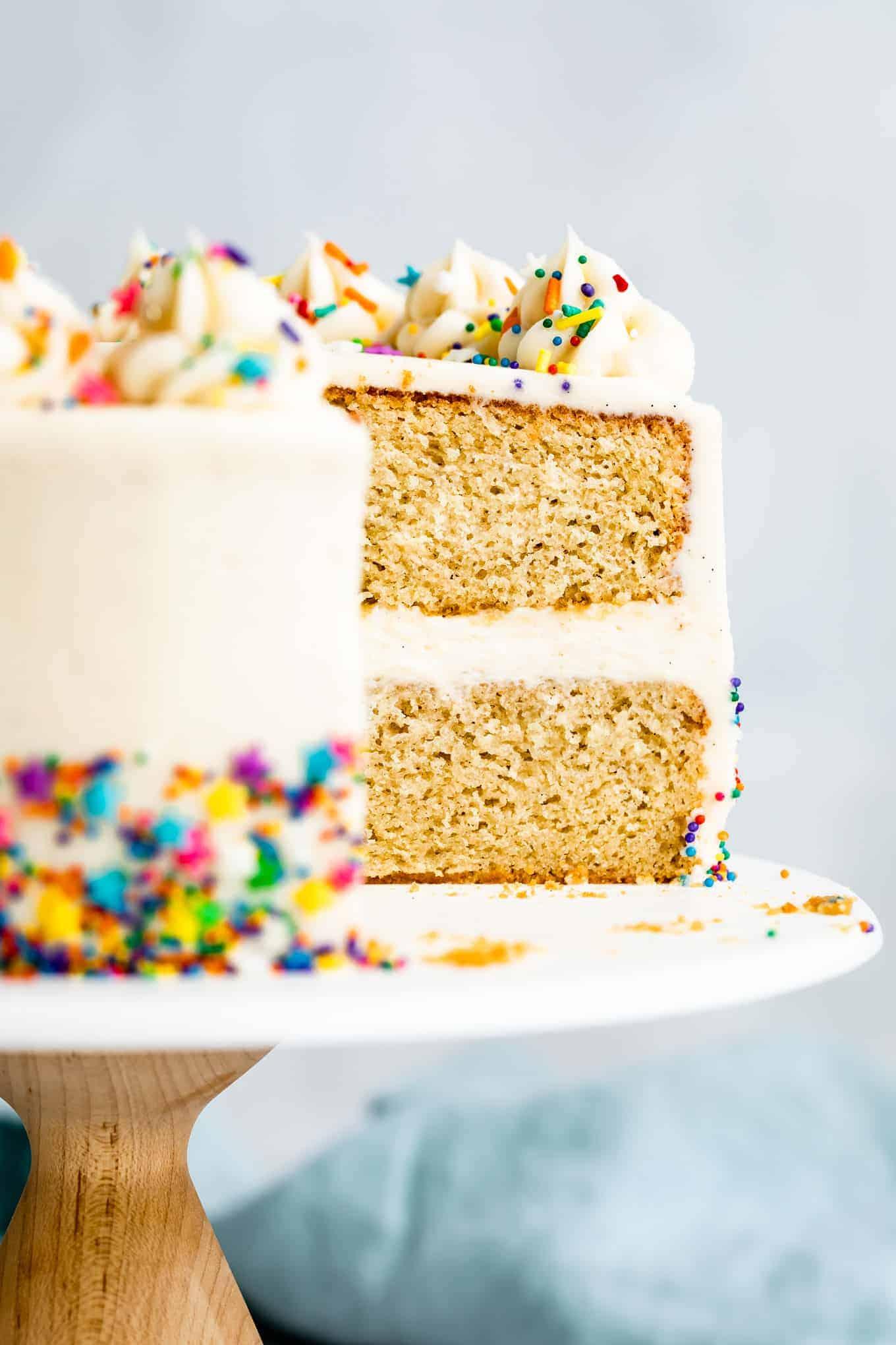 Gluten-Free Birthday Cake Recipe