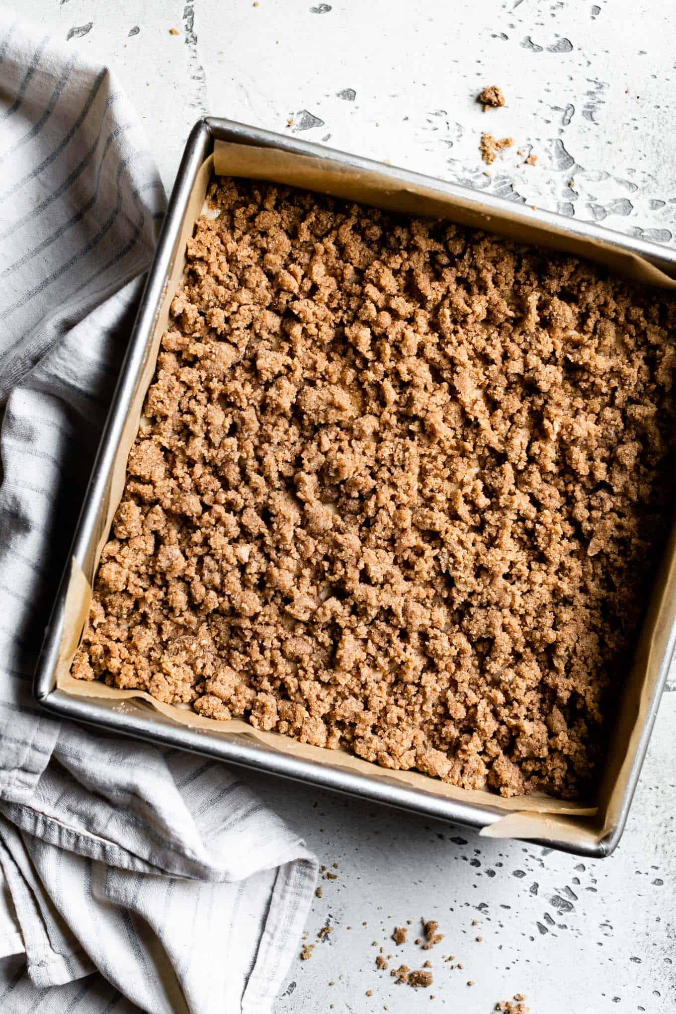 Cinnamon Streusel Gluten-Free Coffee Cake