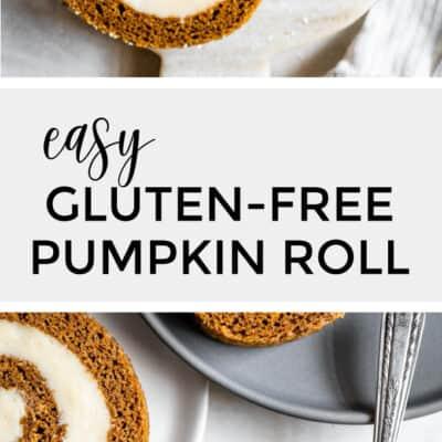 Easy Gluten-Free Pumpkin Roll