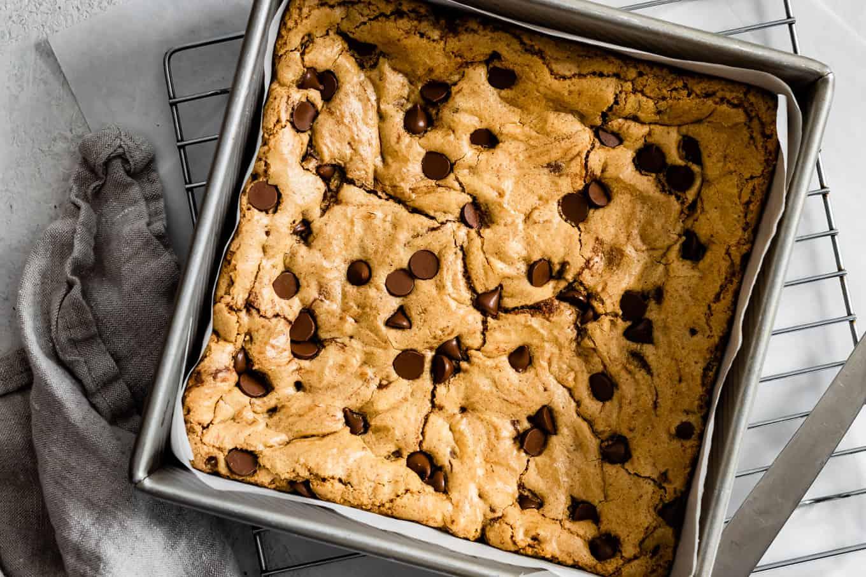 Gluten-Free Sorghum Flour Blondies