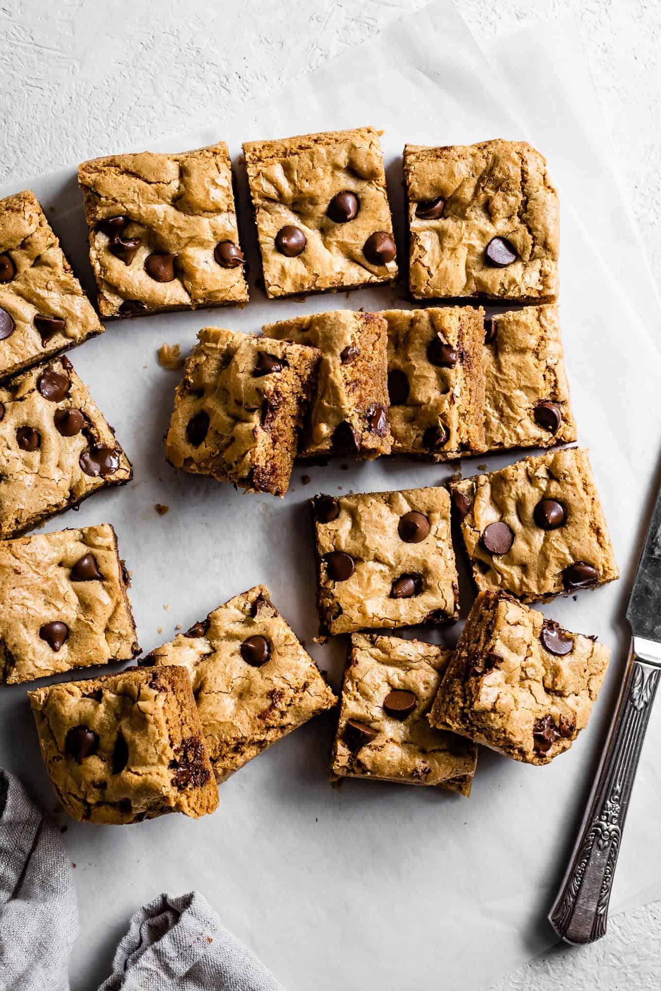 Gluten-Free Blondies Recipe