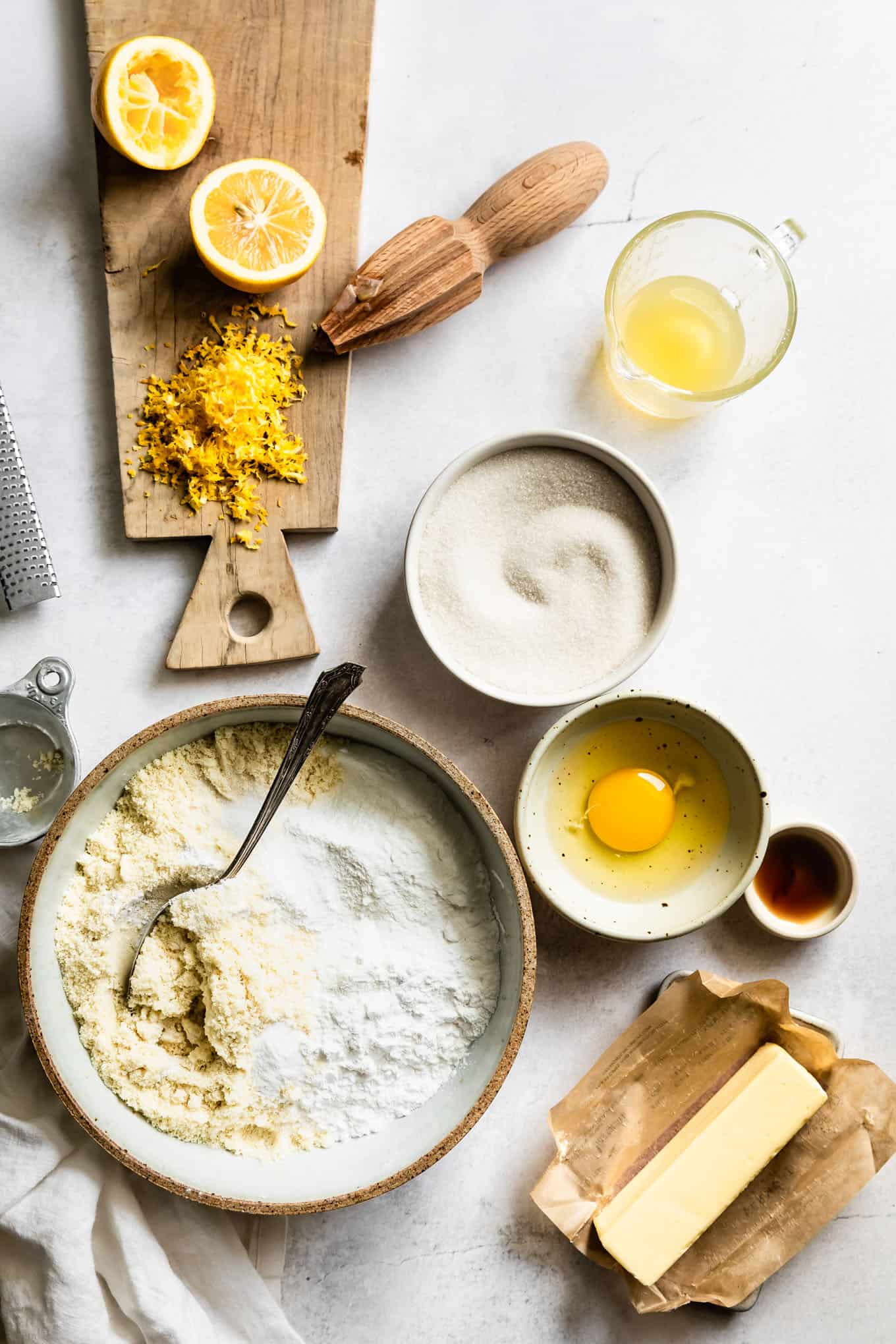 How to Make Gluten-Free Lemon Cookies Ingredients