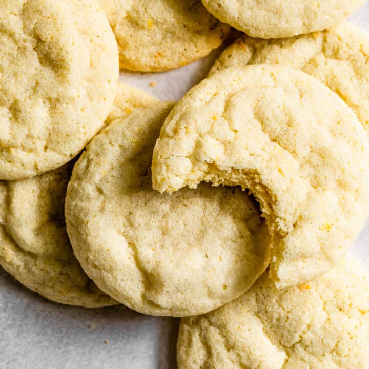 Gluten-Free Lemon Cookies Recipe