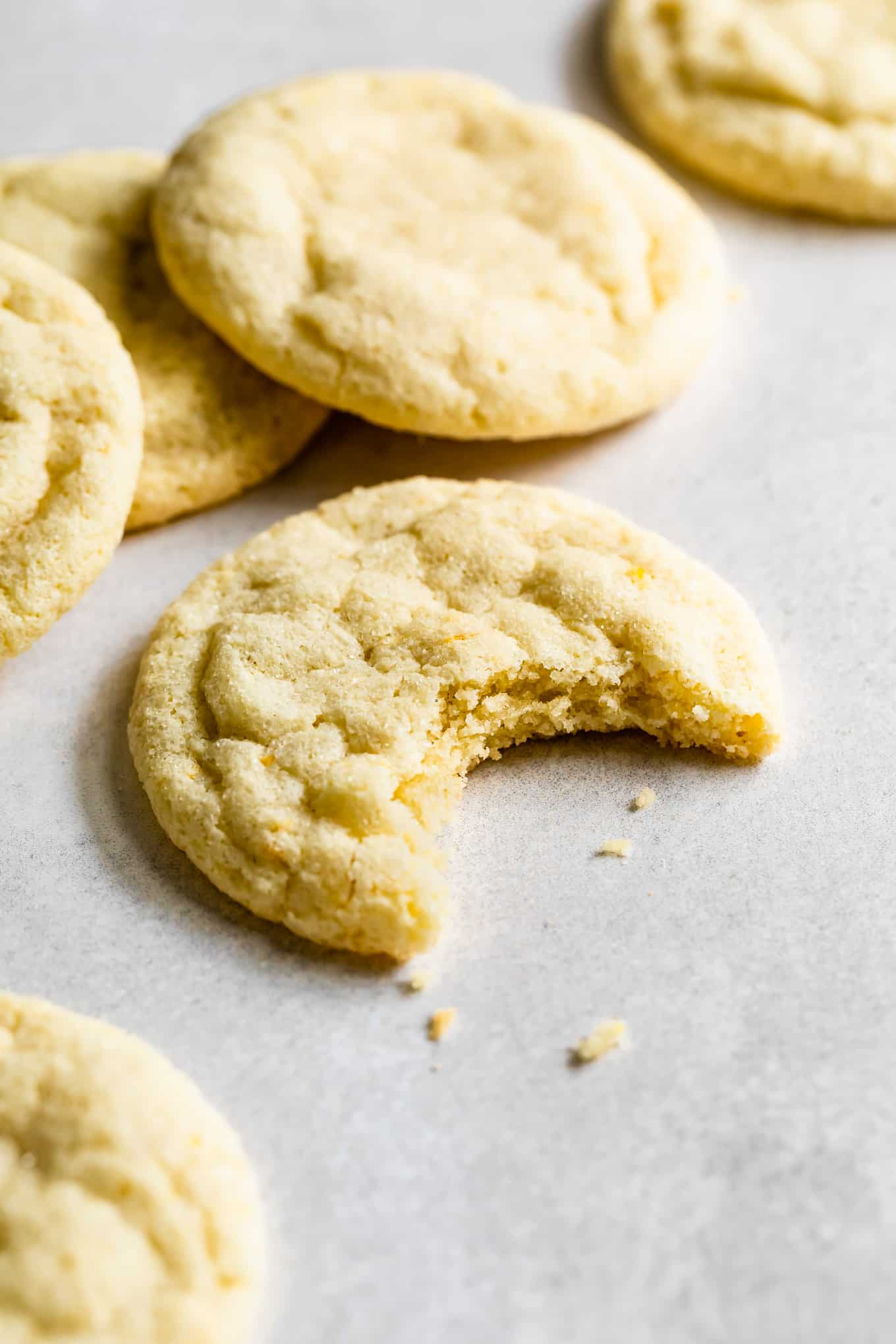 Chewy Gluten-Free Lemon Cookies