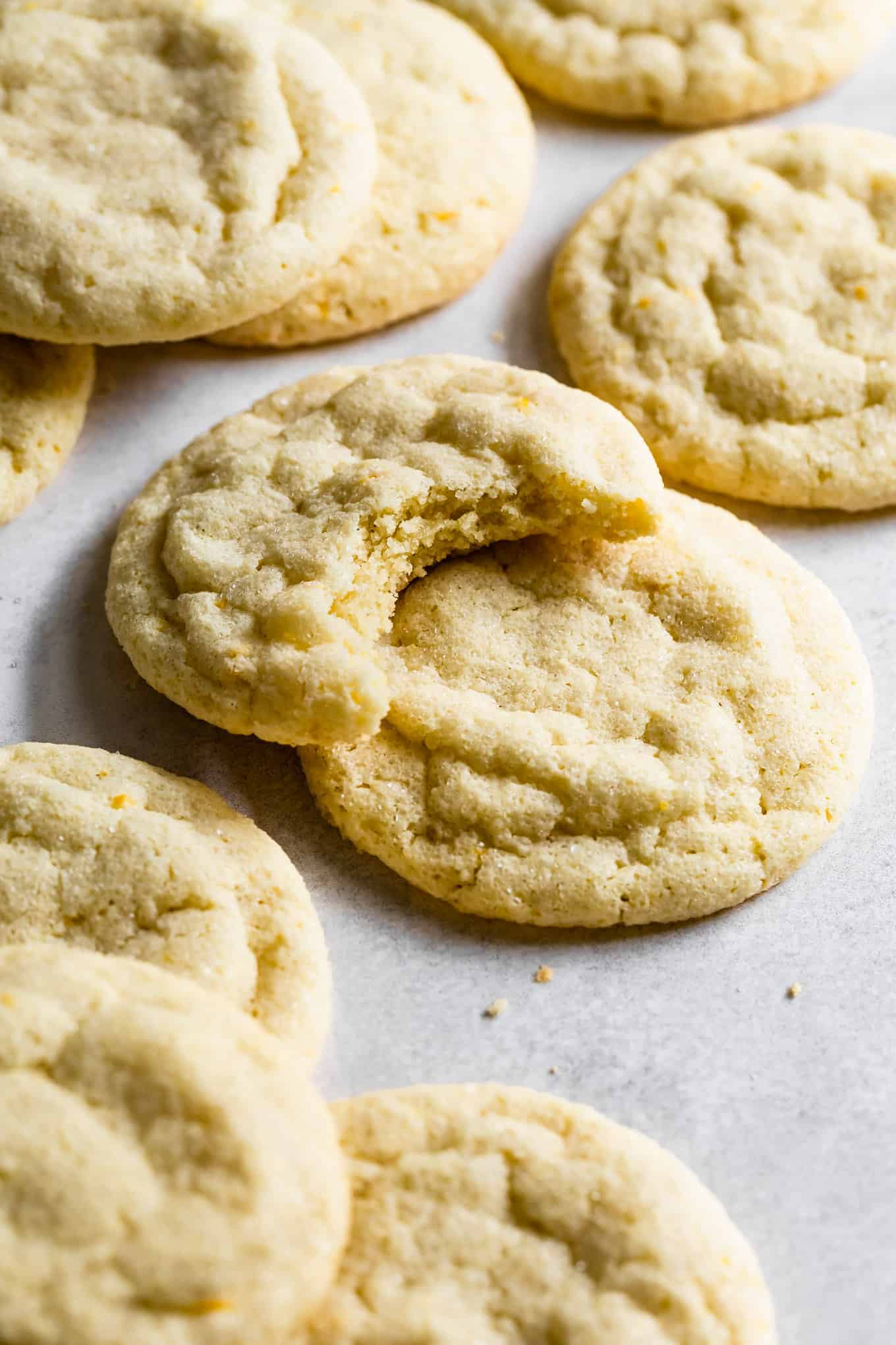 Soft and Chewy Gluten-Free Lemon Cookies
