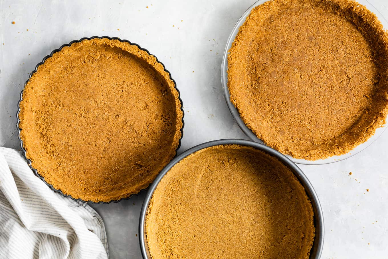Gluten-Free Graham Cracker Pie Crust, Tart Crust, and Cheesecake Crust