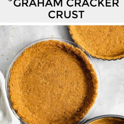 Gluten-Free Graham Cracker Crust, three ways