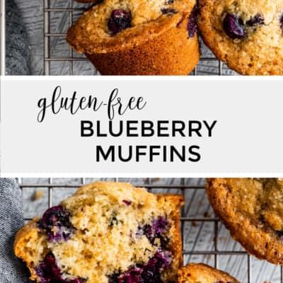The Best Gluten-Free Blueberry Muffins