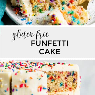 Fluffy Gluten-Free Funfetti Cake