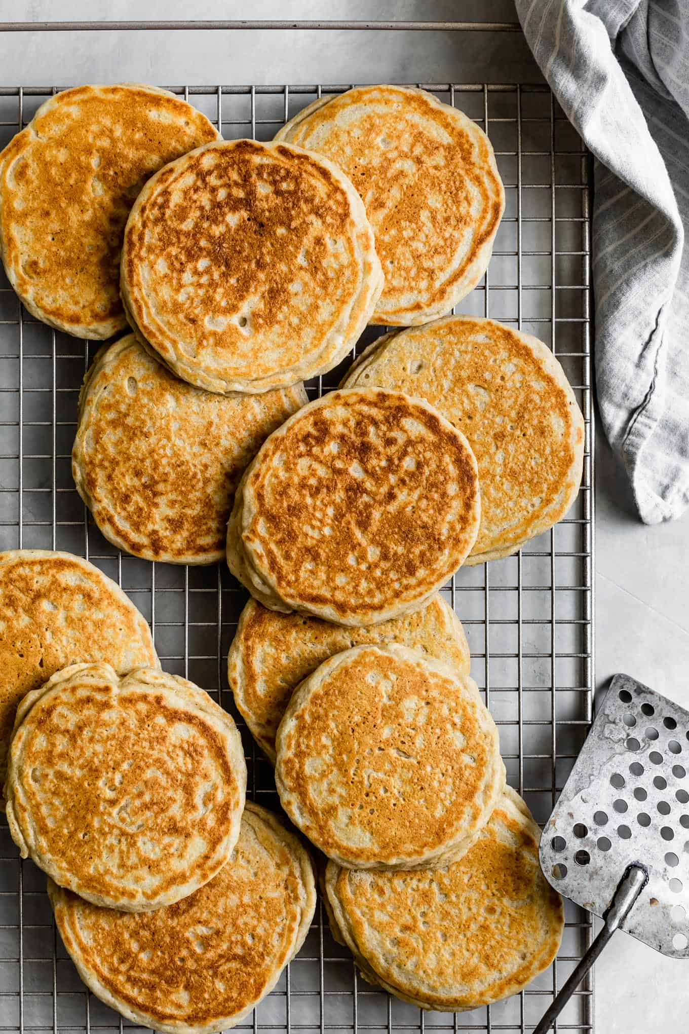 Cooling gluten-free buttermilk pancakes
