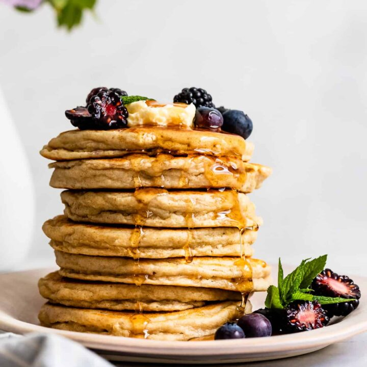 Stack of Fluffy Gluten-Free Pancakes