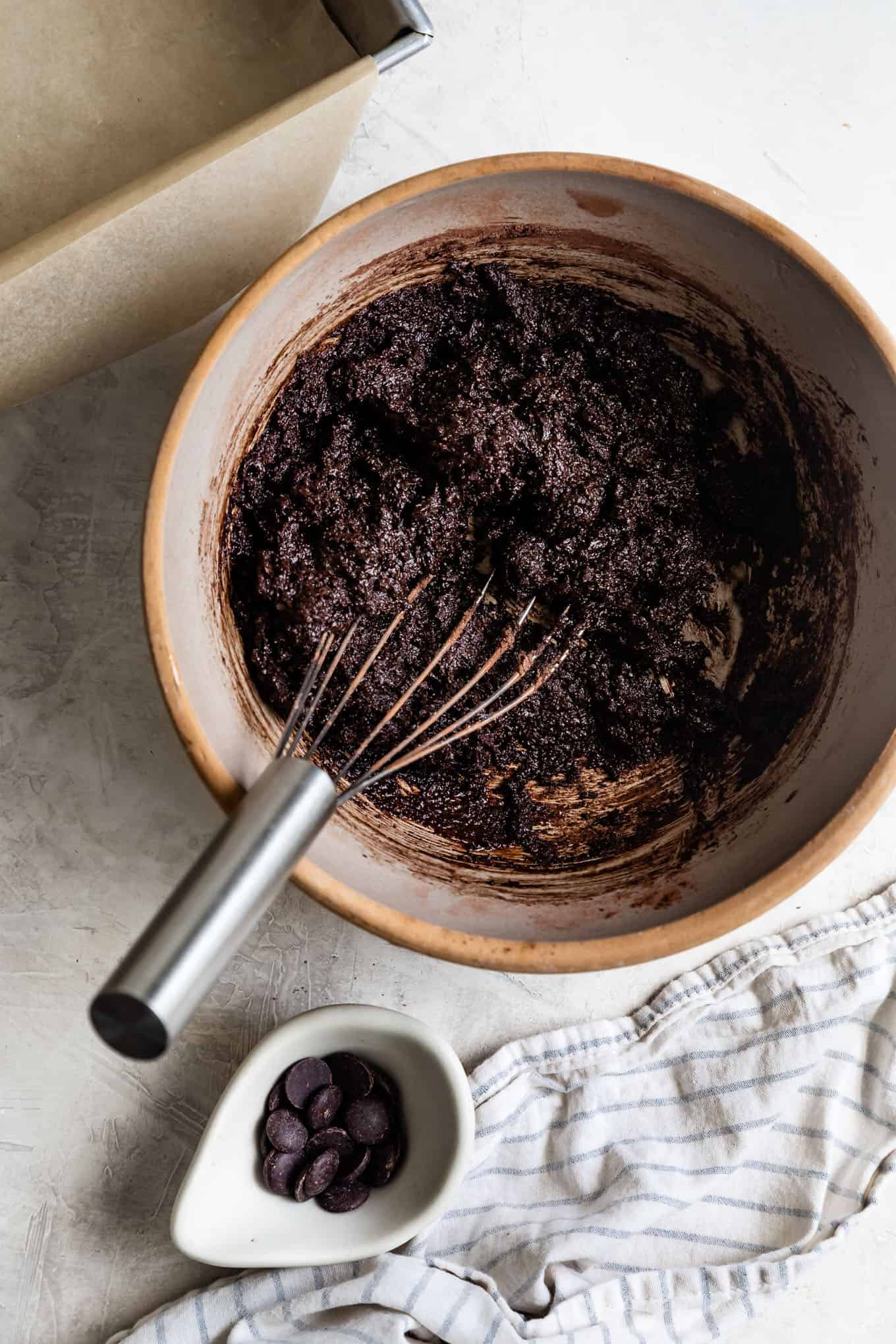 Gluten-Free Cocoa Brownie Batter