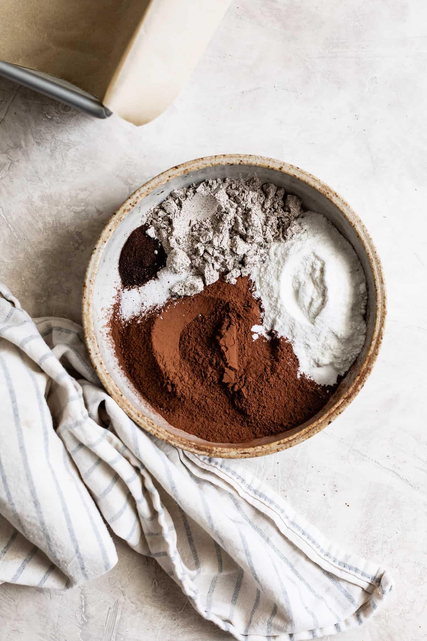Flour Mix for Buckwheat Flour Brownies