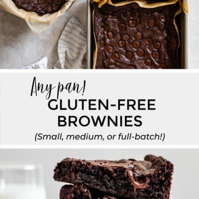 Any Pan Gluten-Free Brownies